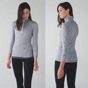 Lululemon chevron half zip pullover